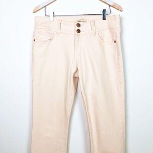 CAbi #874 Blush Pink Lou Lou Jeans - 10
